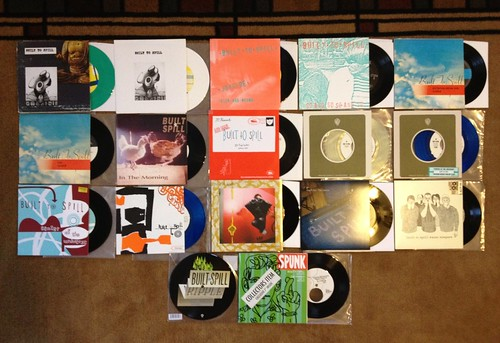"Collection: Built To Spill 7""s by Tim PopKid"