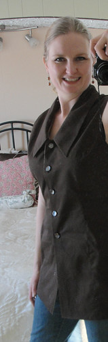 Brown Tunic Vest 2