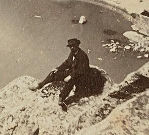 Posible autoretrato de Jean Andrieu en Toledo en 1868