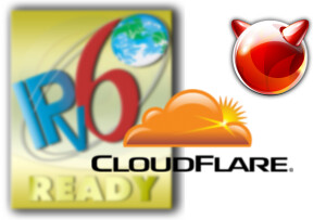 ipv6 + CloudFlare + FreeBSD