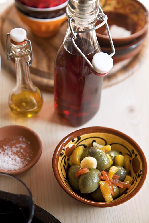 Tapas Olive fresche Marinate