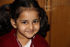 Junior KG Street Photographer of Mumbai - Marziya Shakir 4 Year Old by firoze shakir photographerno1