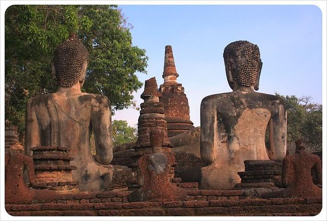 buddhas & temples kamphaeng phet