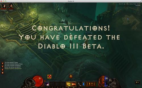 Diablo 3 beta = beat! by MeganMorris