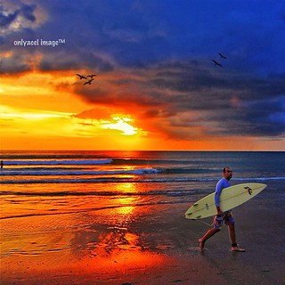 The Surfer #beach #sunset #iphonesia #onlyacel #gang_bb #grupelite #acelstrip #bali