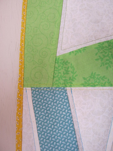 Close up of more quilting...
