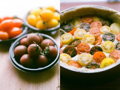 tomato & tart.
