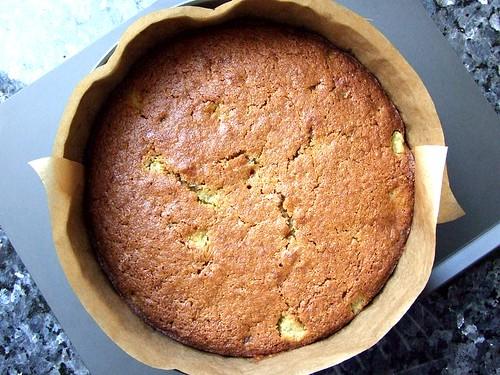 rhubarb polenta cake 2