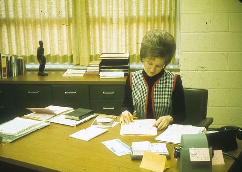1971 Christian Service Director Joy Gerig