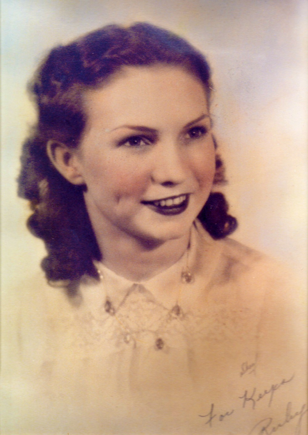 Ruby Ophelia South 1939 Age 18