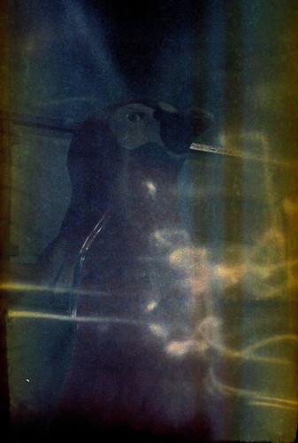 penguin with light leaks by pho-Tony
