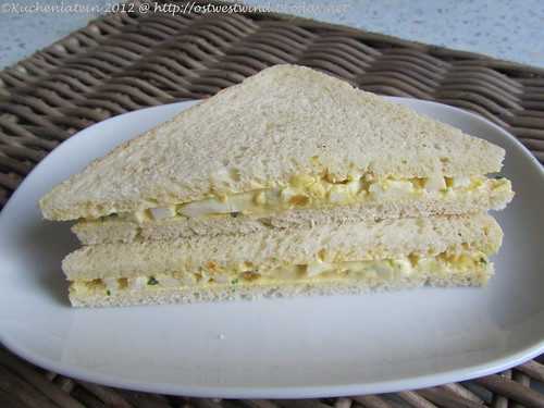Eier-Sandwich