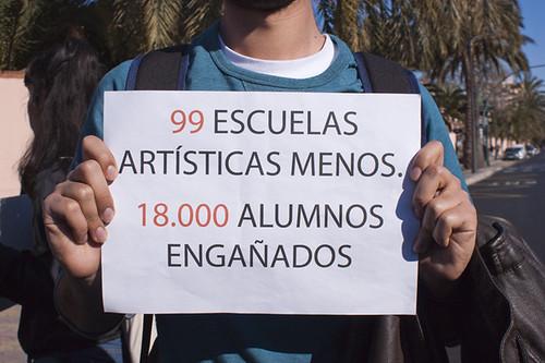Manifestación y asamblea estudiantil 23Feb2012
