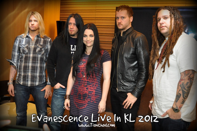 Evanescence Concert in Malaysia KL Life | TianChad.com