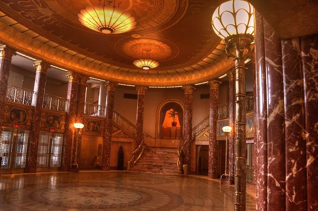 Grand Hall Foyer : The bogomolny kozerefski grand foyer at severance hall