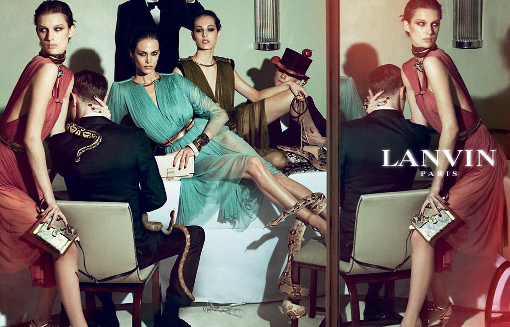 Lanvin S/S 2012 Steven Meisel