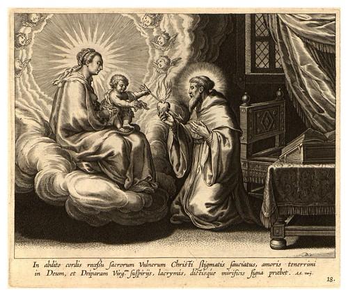 013-Iconographia magni patris Aurelli Augustini…1624-Grabados de Boetius Bolswert- Cortesia de Villanova University