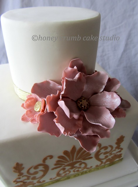 Edible Sugar Flowers For Wedding Cakes