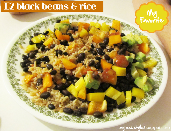 Whole Food Meal - Black Beans & Rice