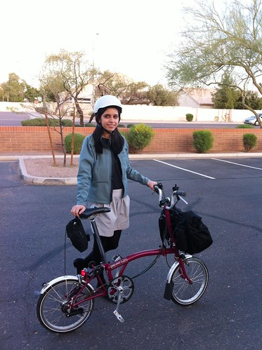 Biking home in Arizona