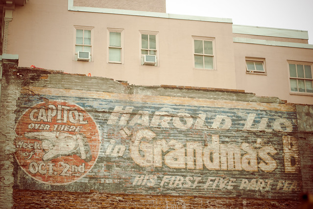 Ghost sign on Granville