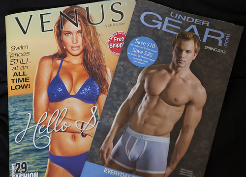 Underwear catalog covers