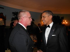 MCPOCG Leavitt with President Obama