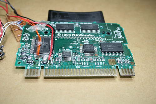 CPU2 SGB-N-10 PCB from a Super Game Boy for the SNES (PAL)
