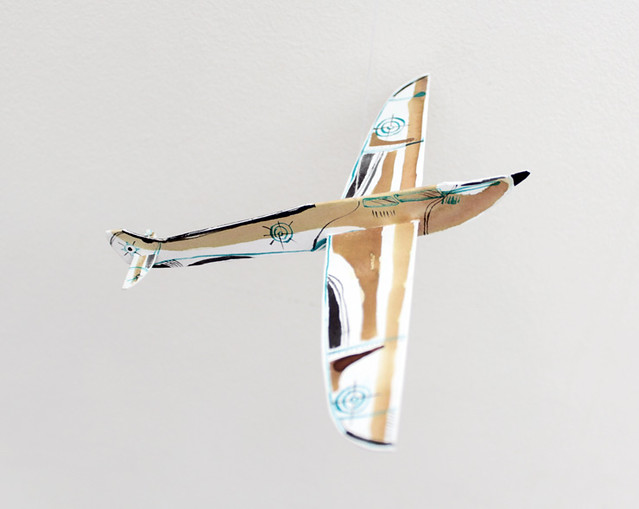 paper spitfire for my grandfather