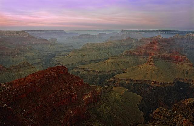 Misty Canyon Twilight