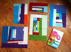 Traveling Quilts: Jacquie Blocks - Before