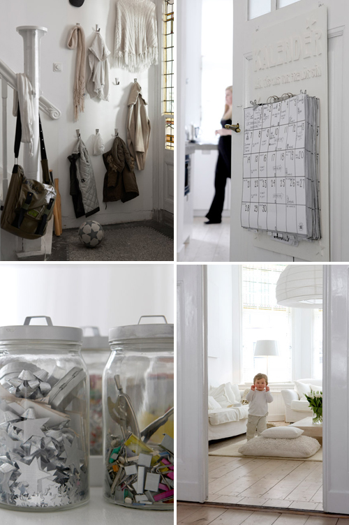 2012 Family Home Decorating Ideas: A White Family Home