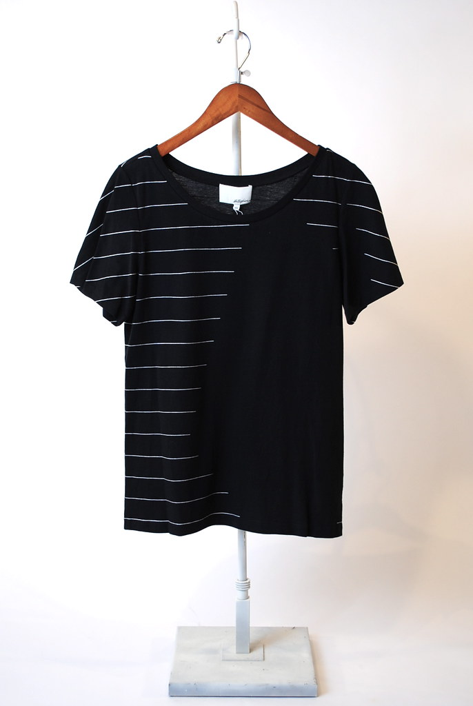 Interrupted Stripe T-Shirt