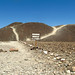 One of the hills where many of the straight Nasca lines meet. Nsaca, Peru 14APR12