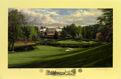 The 17th Hole, Blue Course, Congressional Country Club, Bethesda, Maryland