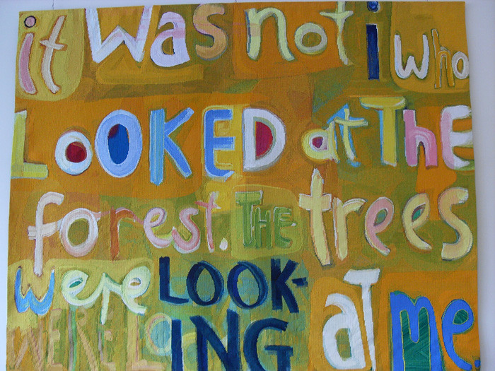 It was not I that looked by Angela Brennan 2006
