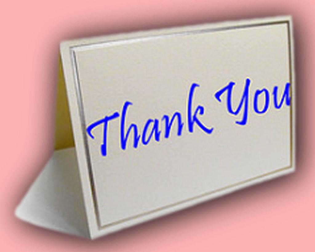 Thank You - image