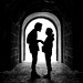 the romantic tunnel by D.F.N. Noir & Blanc black & white by '^_^ Damail Nobre ^_^'