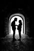 the romantic tunnel by D.F.N. Noir & Blanc black & white by '^_^ Damail Nobre ^_^'