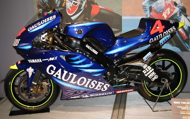 2003 YAMAHA YZR-M1(OWN3)#4 Alex Barros