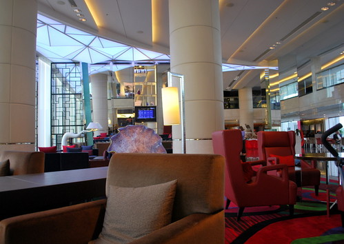 Hongkong Skycity Marriott Hotel Lobby1