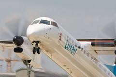 Luxair, Q400 (1)