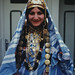 Photograph [97.20.1]: Jews of Djerba. Blue Bride, by Keren T. Friedman (Djerba, Tunisia, 1983)