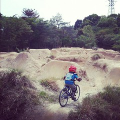 地獄谷トレイルおもしろかった!#bmx #trails #Japan