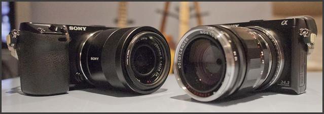 Sony NEX-7 (x2) Zeiss 24mm f/1.8 Voigtlander 35mm f/1.2