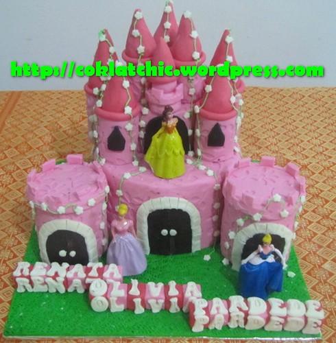 Cake Castle Princess Renata Olivia Pardede Jual Kue