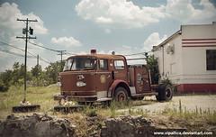Old Firetruck, Galena, Kansas