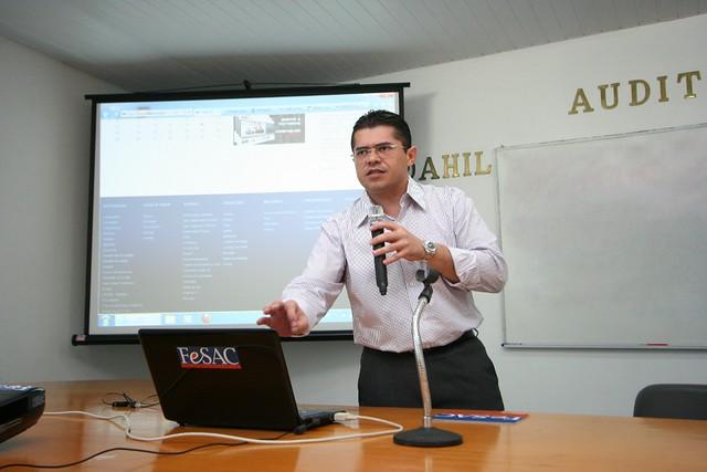 Início do Curso Preparatório com Presidente Valdetário 16-03-2012