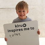 KLRU inspires me to ... think