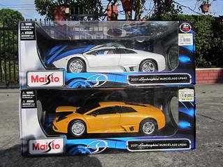 Maisto 1/18 Lamborghini Murcielago LP640